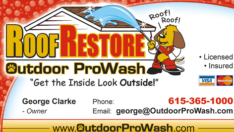 Roof Restore Outdoor ProWash George Clarke