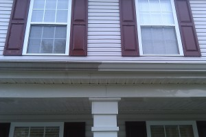 Gutter cleaning hydrocarbon removal
