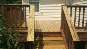 Deck Staining Hendersonville TN